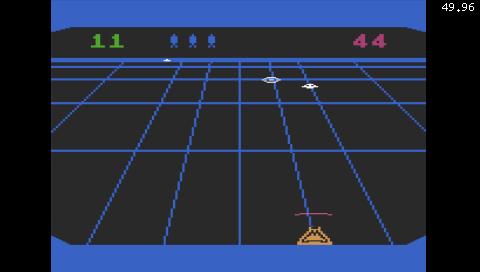 Beamrider (Atari 5200) (Atari800 PSP)