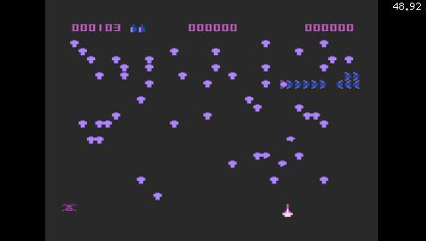 Centipede (Atari 800) (Atari800 PSP)