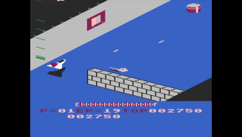Zaxxon (Atari 5200) (Atari800 PSP)