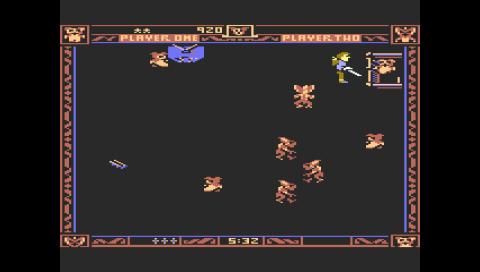 Gremlins (Atari 5200) (Atari800 PSP)