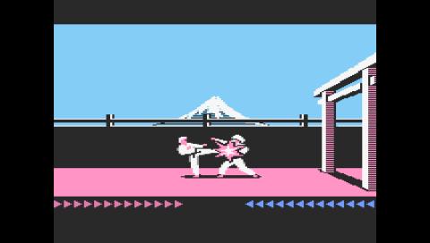 Karateka (Atari 800) (Atari800 PSP)