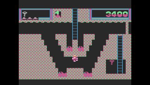Montezuma's Revenge (Atari 5200) (Atari800 PSP)