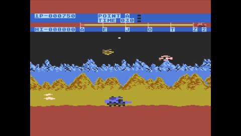 Moon Patrol (Atari 800) (Atari800 PSP)