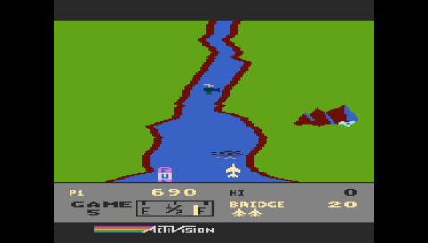 River Raid (Atari 5200) (Atari800 PSP)