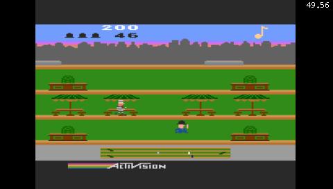 Keystone Kapers (Atari 5200) (Atari800 PSP)
