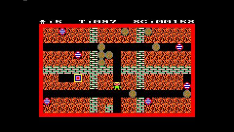 Mad Miner (Caprice32 PSP)