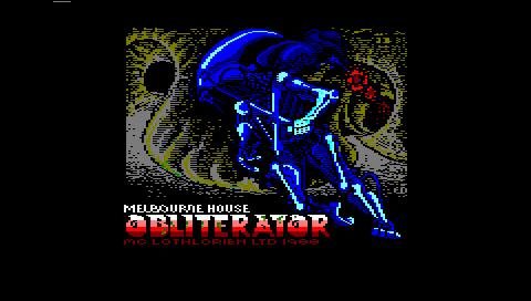 Obliterator (Caprice32 PSP)