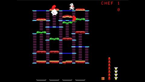 Burgertime (ColEm PSP)