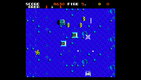 Zanac Ex (fMSX PSP)