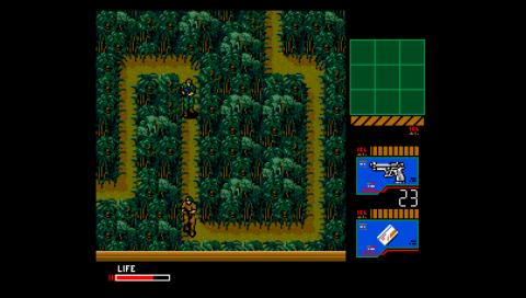 Metal Gear 2: Solid Snake (fMSX PSP)