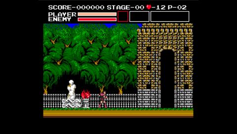 Vampire Killer (fMSX PSP)