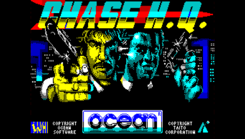 Chase H.Q.  (Fuse PSP)