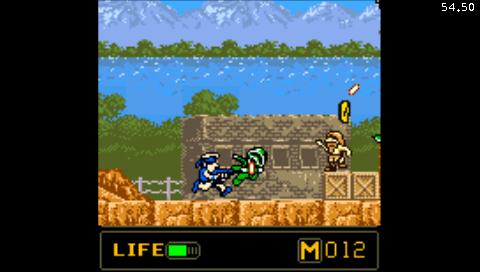 Metal Slug: First Mission (NeoGeo Pocket Color) (NeoPop PSP)