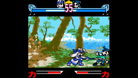 The Last Blade (NeoGeo Pocket Color) (NeoPop PSP)