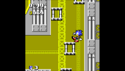 Sonic The Hedgehog: Pocket Adventure (NeoGeo Pocket Color) (RACE! PSP)