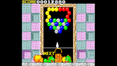 Bust-A-Move (Game Gear) (SMS Plus PSP)