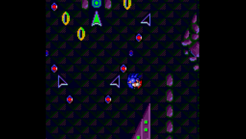 Sonic Spinball (Game Gear) (SMS Plus PSP)