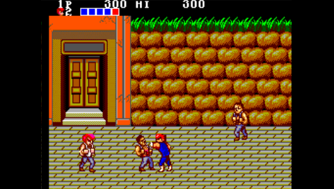 Double Dragon (Master System) (SMS Plus PSP)