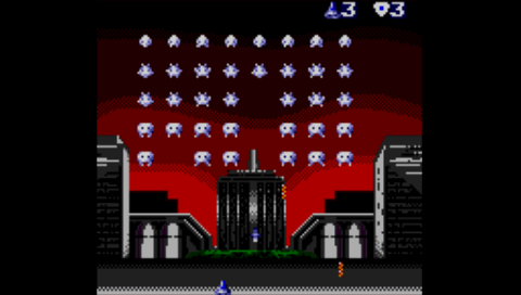 Super Space Invaders (Game Gear) (SMS Plus PSP)