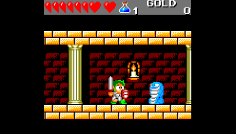 Wonderboy III (Game Gear) (SMS Plus PSP)