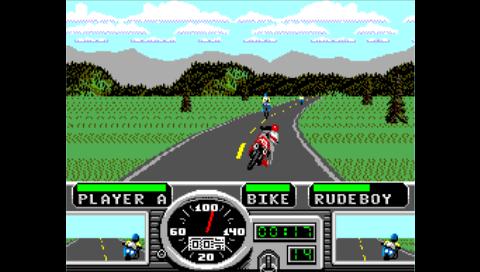 Road Rash (Master System) (SMS Plus PSP)